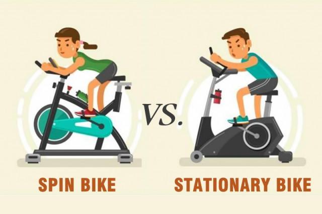 Xe đạp thể dục tại chỗ và Xe đạp Spin Bike: Chúng khác nhau như thế nào?