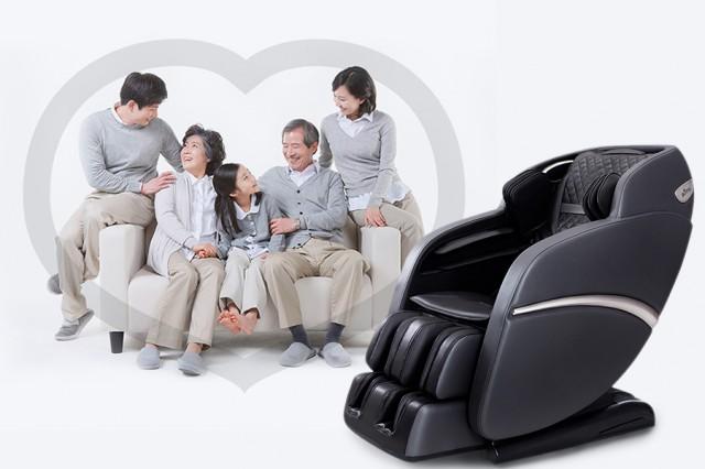 Tác dụng ghế mát-xa toàn thân đối với người già