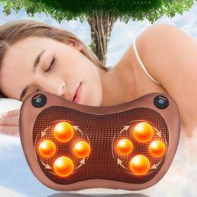 Gối massage hồng ngoại Shika - 8 bi