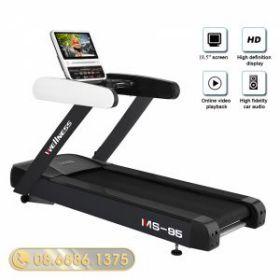 Máy chạy bộ điện Wellness Fitness MS-95 cho phòng GYM
