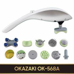Máy mát-xa cầm tay 11 đầu OKAZAKI (OK-568A)