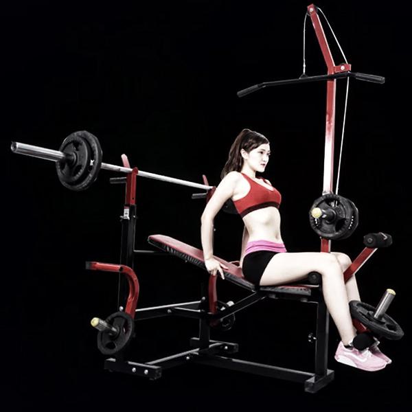 Ghế tập tạ đa năng MIC-03 (Phòng tập Gym của mọi gia đình)