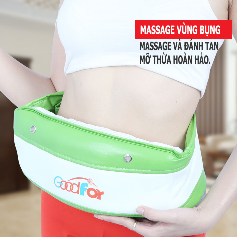 Đai massage Goodfor HL-2020 đánh tan mỡ thừa hiệu quà