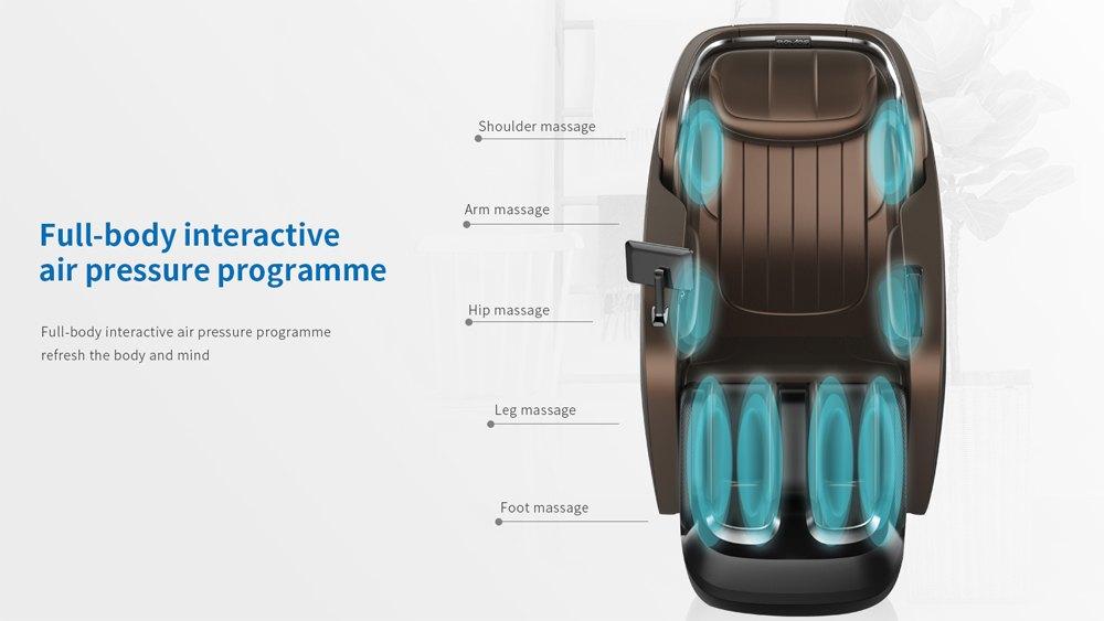 Ghế massage toàn thân Royal R889 cao cấp - Hình 4