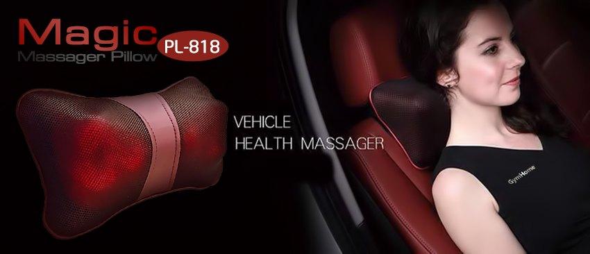 Gối massage hồng ngoại chính hãng cao cấp