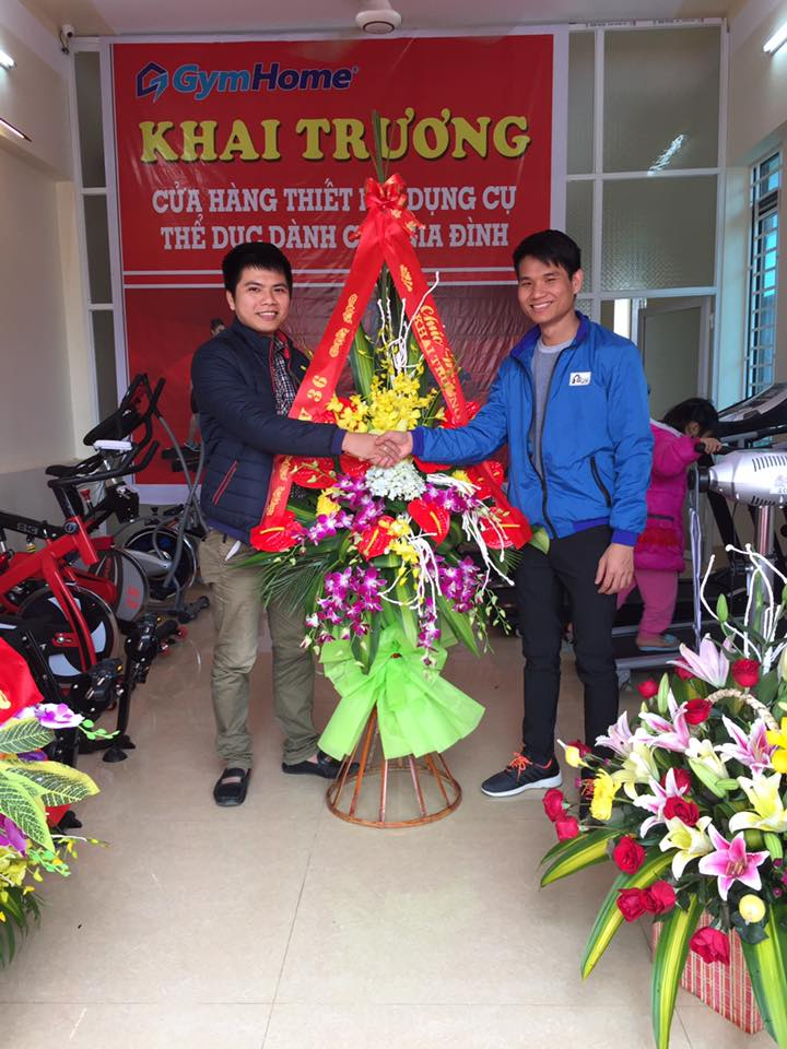 Khai trương showroom GymHome tại Thanh Hóa