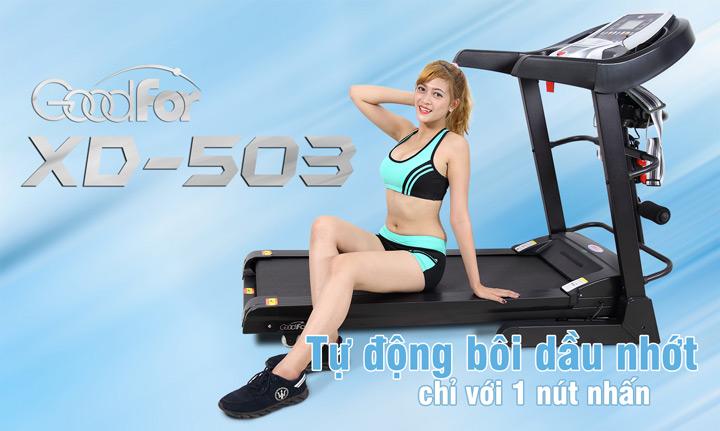 Máy chạy bộ điện đa năng Goodfor XD-503 (2)