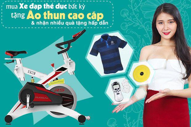 Khuyến mãi khi mua xe đạp thể dục tại Thanh Hóa