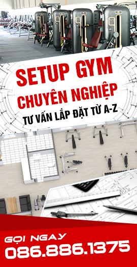Lắp đặt phòng Gym chuyên nghiệp tại Thanh Hóa