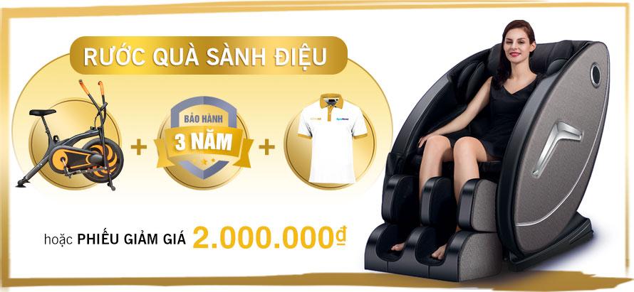 Ghế massage toàn thân giá rẻ